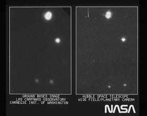 Primera luz del Hubble