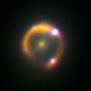 supernova captada por el Keck