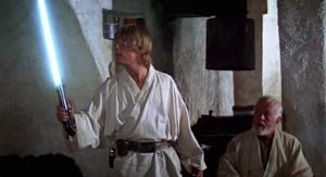Star Wars - Obi-Wan Kenoby y Luke Skywalker