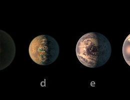 trappist-1 y sus exoplanetas