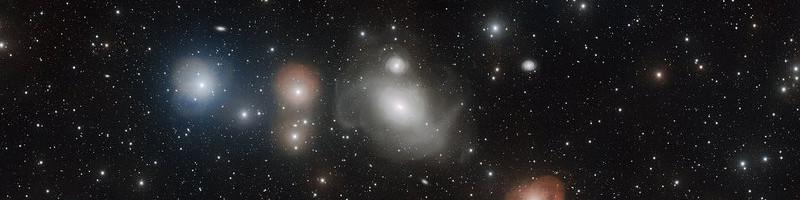 NGC 1316: una galaxia con cicatrices