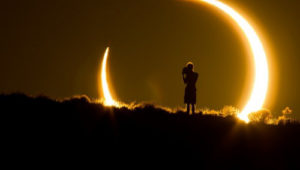eclipse, superluna, luna azul