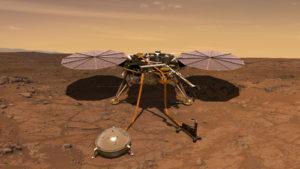 la sonda InSight analizará los terremotos marcianos o martemotos
