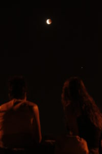 imágenes del eclipse de luna