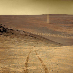opportunity dust devil
