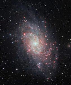 galaxia del triángulo